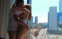 Sexo matinal com a namorada gostosinha